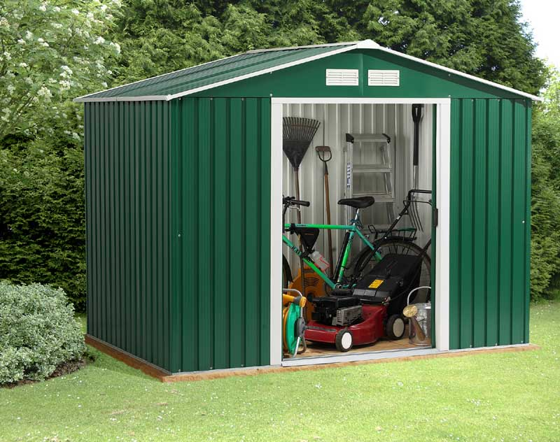 metal shed again