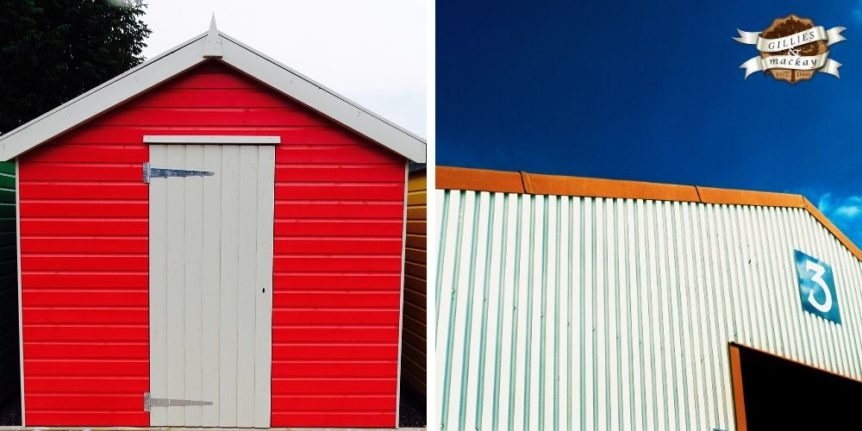 Wood vs Metal or Plastic Sheds - blog feature image