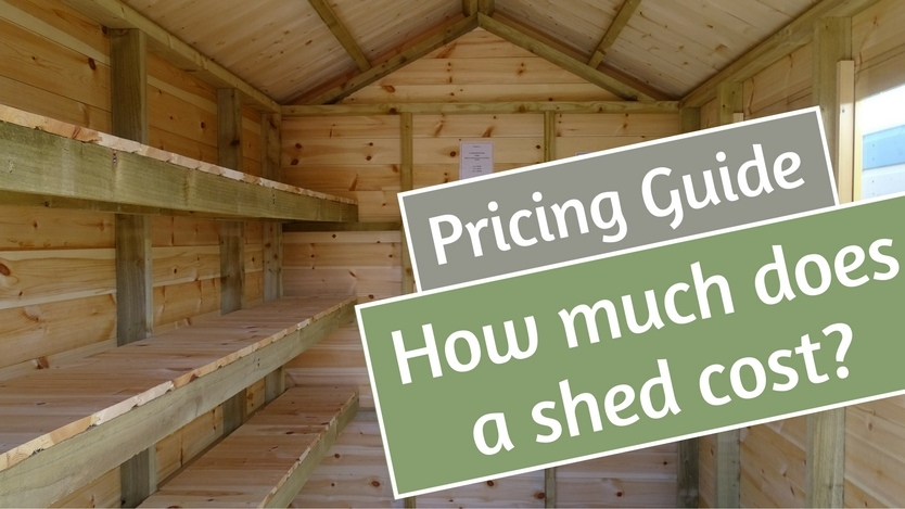 How much does a shed cost?