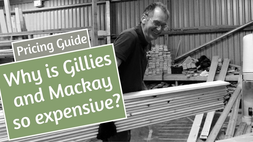 Why is gillies and mackay so expensive?