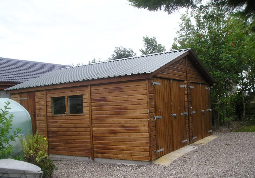 The Best Timber Garage Specification