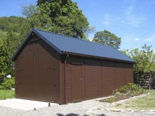 Steel Box Profile Garage