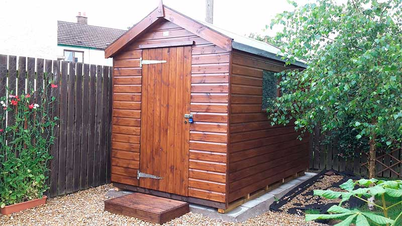 Apex Sheds from Gillies & Mackay