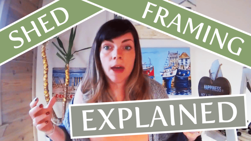 Shed framing explained