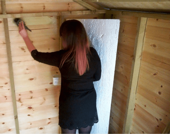 How to insulate your shed insulating pricing materials and expert advice for Fungal wash for exterior walls