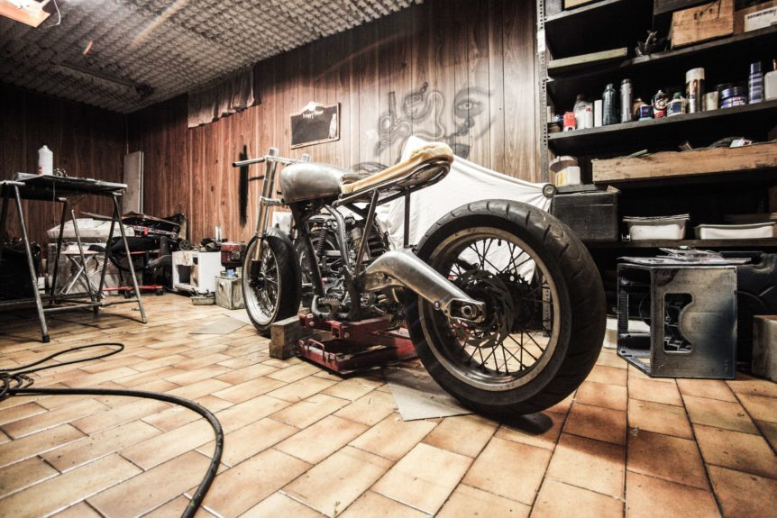 The Best Shed for a Harley Davidson - blog feature image
