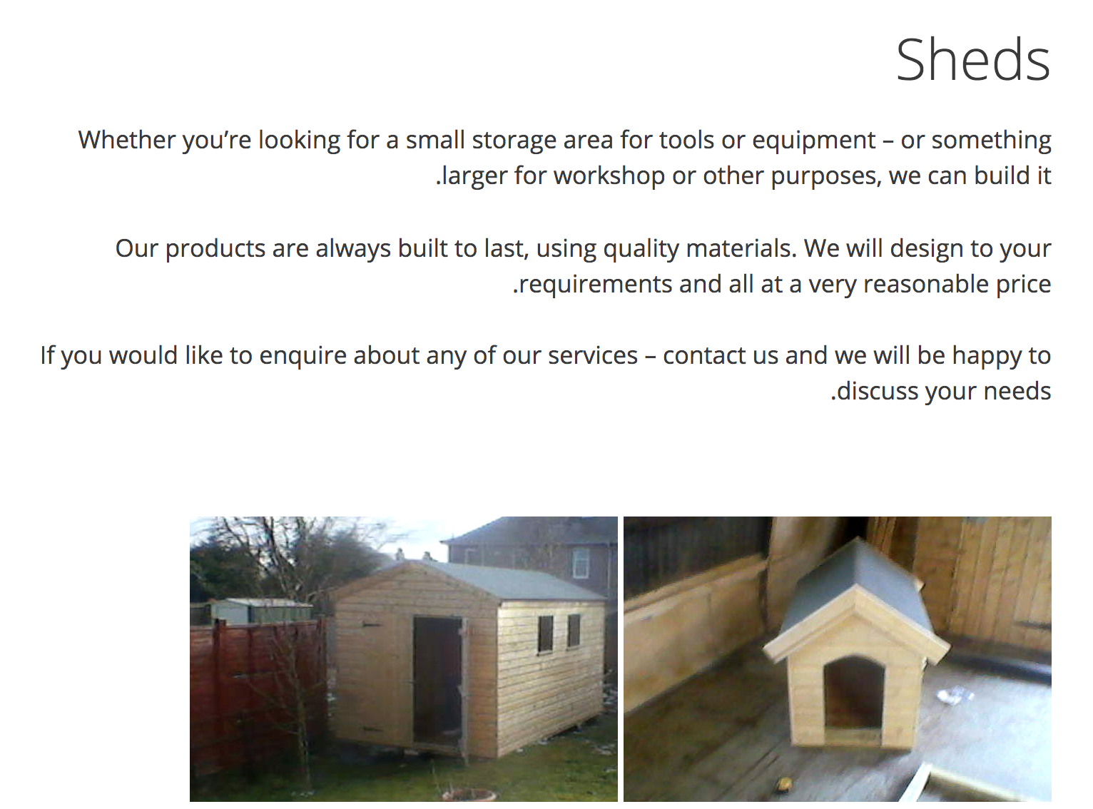 Garden sheds FIfe - Premier Sheds and Garages