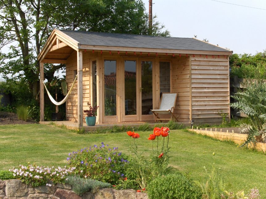 "Blog feature image for ""What Kind of base do I need for a Garden Room"""