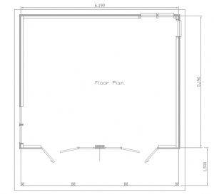 schematic of the floor plan for the barley