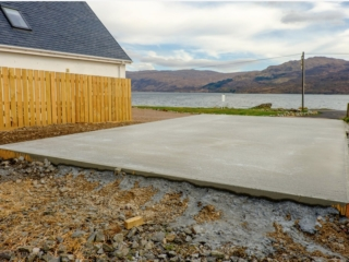 What kind of base do you need for a Garage - concrete garage base