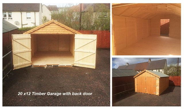 Timber Garages Scotland Top 4 Suppliers