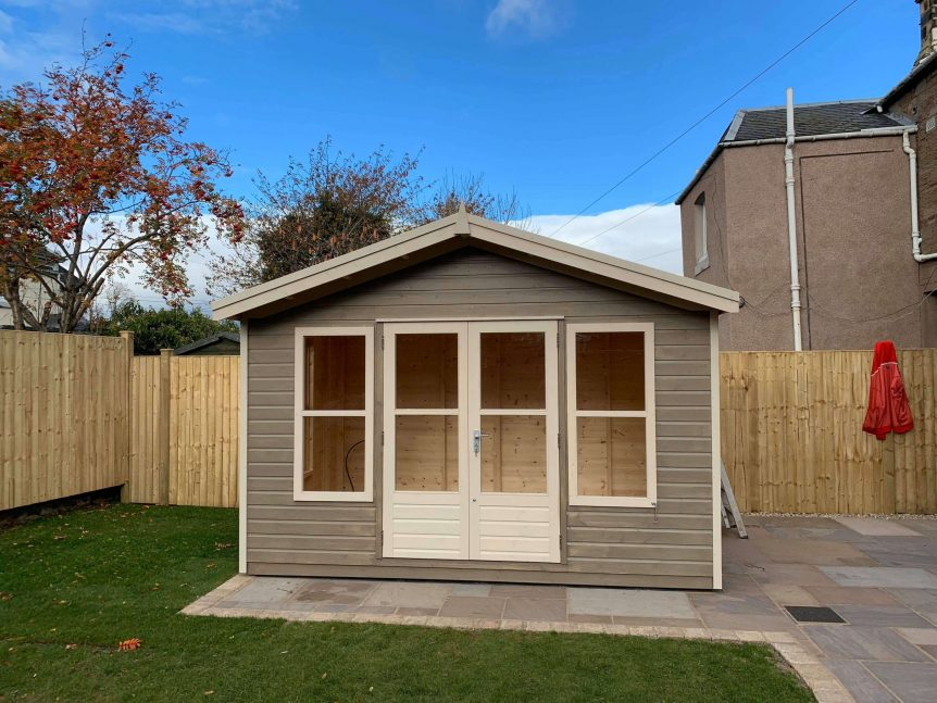 Summerhouse doors tight