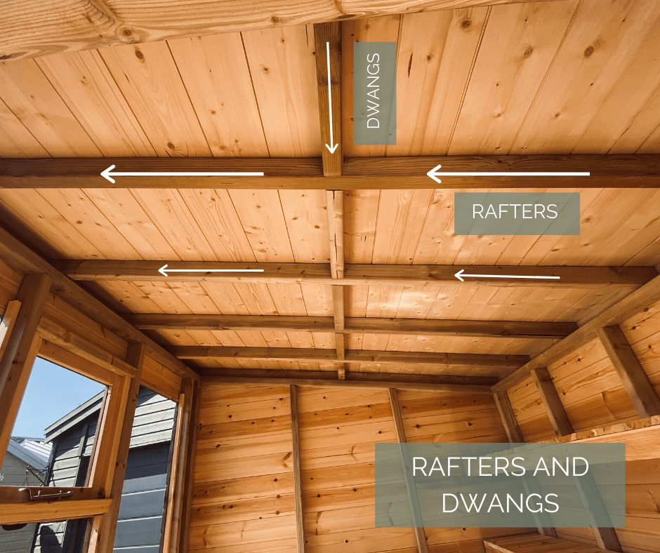 rafters and dwangs