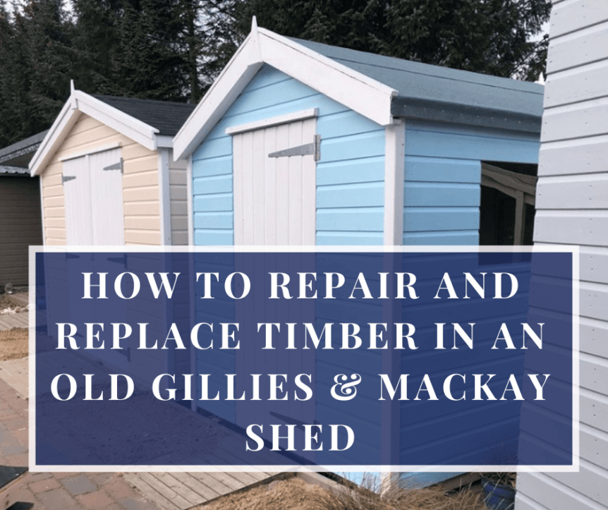 repair and replace shed timber